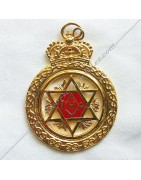 Masonic Regalia of MESA, Scotish Master Saint-Andrew, RER, scotish rit