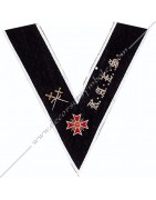 Regalia of the 28th degree of the Memphis Misraim Rite