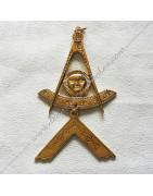 Bijoux maçonniques de Vénérable, Maitre et Officiers du REAA, Rite Ecossais Ancien Accepté